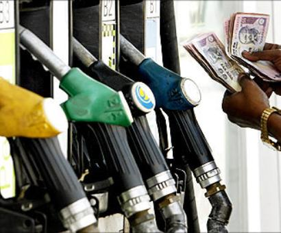 Petrol price hiked by Rs 3.38 a litre