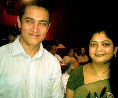 Spotted: Aamir Khan in New Delhi