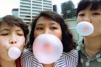 Chewing gum can remove millions of oral bacteria