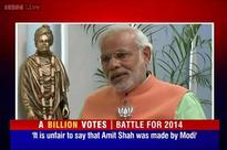 Modi defends Amit Shah's revenge remark, says nothing wrong in his speech