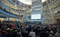 Protesters Gather at America's Biggest Shopping Mall