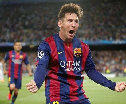 Messi nets double as Barca romp past Bayern