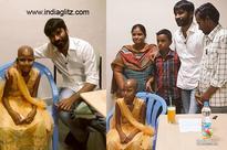 Touching ! Dhanush fulfills 12 year old girl's last wish