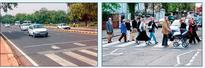 Police request for zebra crossings