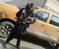 Indian-origin IS militant posts picture with new born and AK-47 on Twitter
