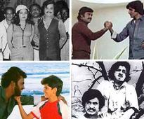 Rare and unseen pics of superstar Rajinikanth