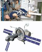 Spin workout to keep fit in space