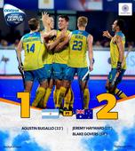 HWL Final: Australia beat Argentina to clinch title