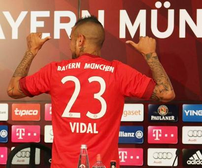 It's sealed! Vidal completes $44 million move to Bayern