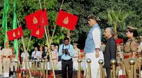 Rajnath Singh pays homage to police who died on duty