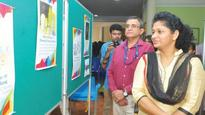 Poster exhibition on Olympics at NISH