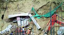 Three killed after mud wall at construction site collapses
