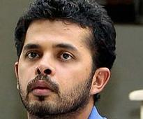 Arrested cricketer Sreesanth's mother, sister visit him in custody