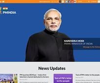 PMO website gets fresh look, now email PM Narendra Modi directly