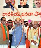 TRS did not approach us: Amit Shah