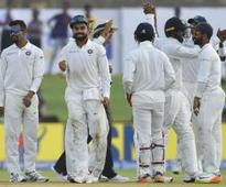 Team India on top at Galle