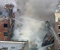 New York building explodes, 11 minor injuries reported