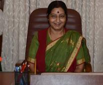 Sushma Swaraj to visit Mauritius, Maldives over the weekend