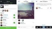 Instagram Direct now allows users to send images and videos to friends privately