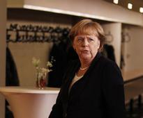 German Chancellor Angela Merkel pledges support against Ebola