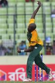 Leie Phangiso spin South Africa home