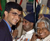 Ganguly Recalls Receiving Padma Shree From Abdul Kalam