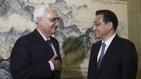 India raised PoK construction activity with China: Khurshid