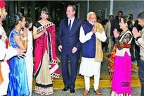 PM Narendra Modi attends Shivani Sethia's dance at Wembley Stadium in the UK