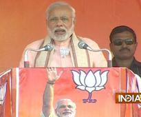 Bihar polls: Nitish backstabbed a Dalit Chief Minister, says PM Modi in Sasaram