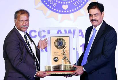 BCCI awards: Vengsarkar, Bhuvneshwar and Rohit Sharma honoured