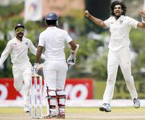 Ishant Sharma Gets Under Dhammika Prasad's Skin, Mocks Him To Bowl A Head-High Bouncer