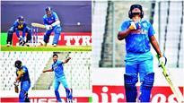Under-19 World Cup: Despite lapses, India sail