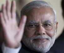 Modi meets soldiers at Siachen Glacier on the occasion of Diwali