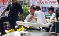 SP, BSP are like 'Barsati Mendhak', says Rahul Gandhi in Agra roadshow