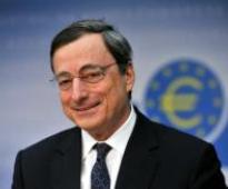 Euro zone's future remains at risk, warns Draghi