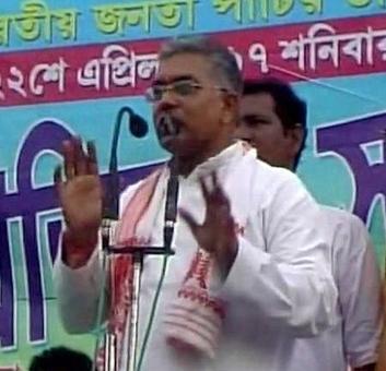 Anyone opposing 'Bharat Mata ki Jai', 'Jai Sri Ram' will be history: Bengal BJP chief