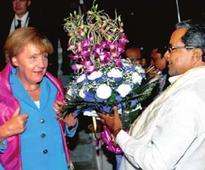 Bengaluru gets quick clean-up for Modi, Merkel