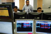 Sensex opens lower, rupee hits six-month low