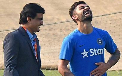 Forget acrimony with Australia, get over it, Ganguly tells Kohli
