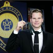Steven Smith youngest Allan Border Medal winner after Michael Clarke