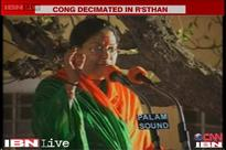 Rajasthan: Vasundhra Raje-led BJP storms to power with 3/4th majority