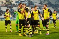 Borussia Dortmund beat Marseille 2-1 in Champions League