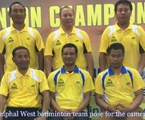 60th State veteran badminton tournament