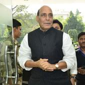 Rajnath Singh hits out against Pakistan on terrorism issue