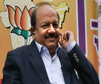 Delhi Lt. Governor invites Harsh Vardhan to discuss govt formation