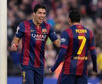 Luis Suarez Opens La Liga Account, Lionel Messi Nets Brace as Barcelona Rout Cordoba