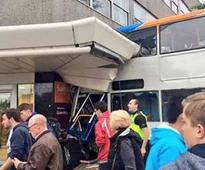 Coventry bus crash: Two dead as double decker bus crashes into supermarket