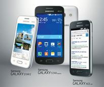 Samsung Introduces Three Affordable Smartphones