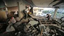 Gaza fighting abates as diplomatic tension flares