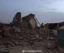 Strong 6.9 magnitude earthquake hits Tibet near India-China border